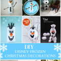 DIY Disney Frozen Christmas Decorations