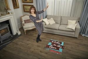 Get dancing & Win £500 Towards Stylish Laminate with Carpetright - Arlene