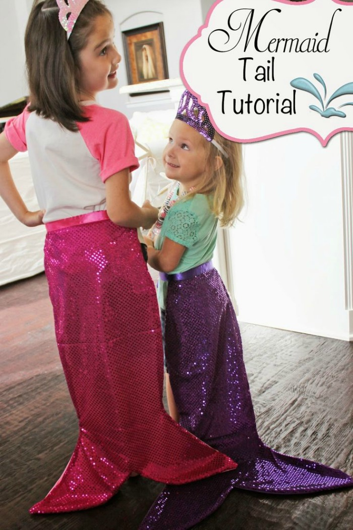 21 Mermaid Birthday Party Ideas For Kids Tails Tutorial