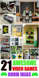 21 awesome video games room ideas