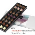 Valentines Sleekster Box from Hotel Chocolat