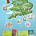 Storytelling Britain - Tourist Attractions & Places to Stay - Infographic