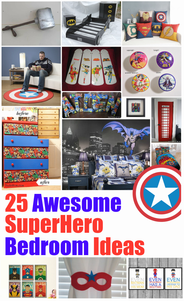 Spectacular Superhero Bedroom Decorating Ideas