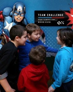 Celebrate MARVEL'S CAPTAIN AMERICA: CIVIL WAR With Disney Store - Marvel Team Challenge