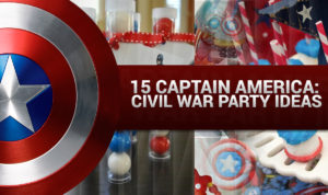 Captain America Civil War Party Ideas