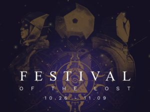 Festival Of The Lost - Destiny Halloween 2016