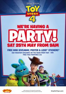 Smyths are having a Toy Story Party